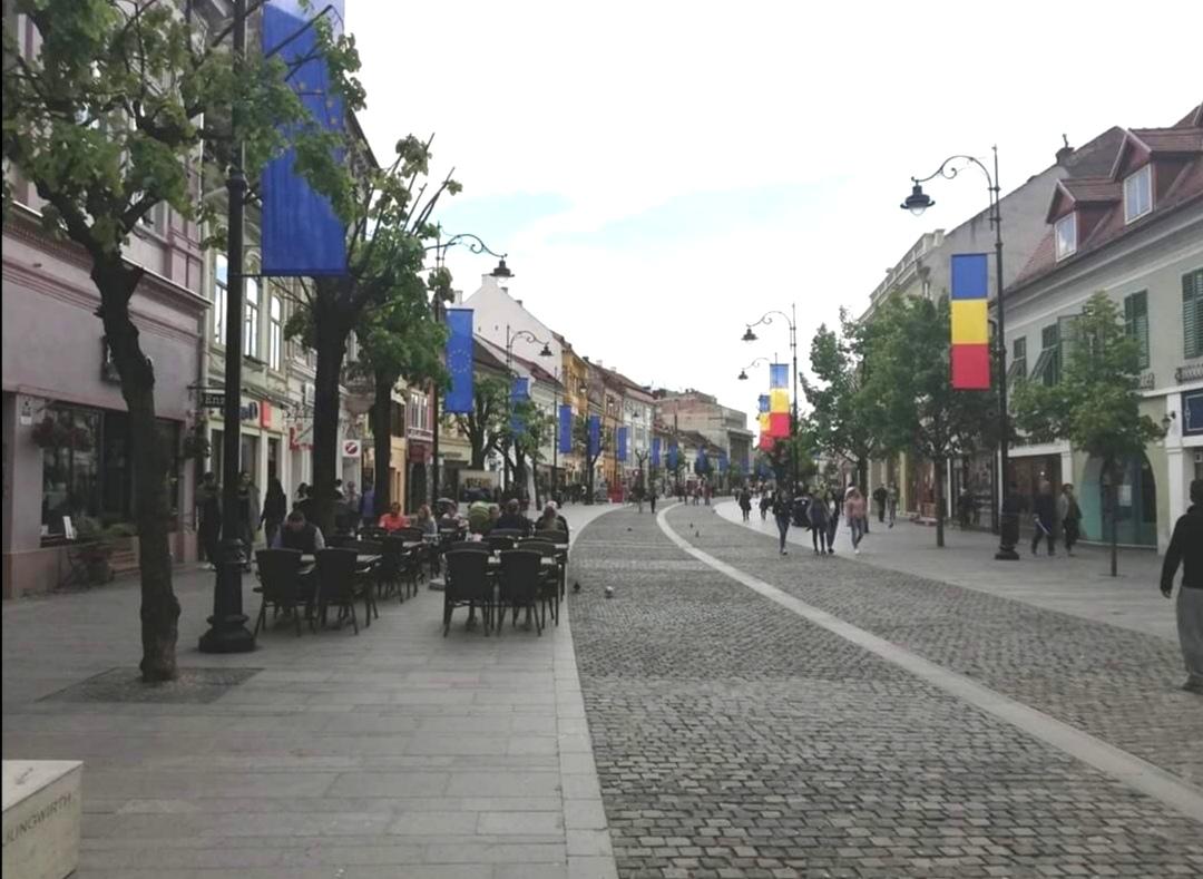מדרחוב סיביו רומניה