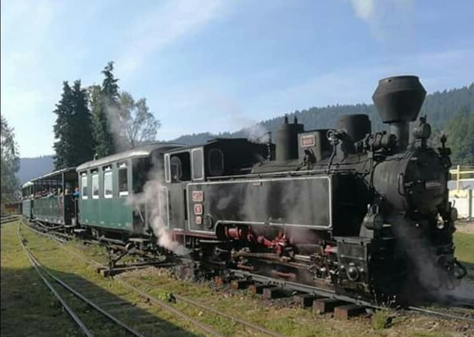רכבת קיטור מוקניצה מרמורש רומניה