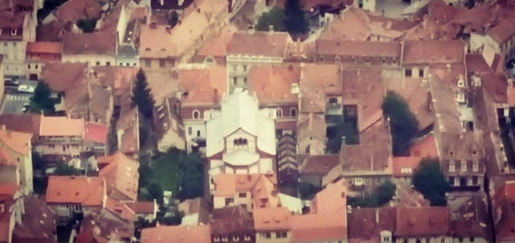 בית הכנסת הניאולוגי תצפית טמפה ברשוב רומניה